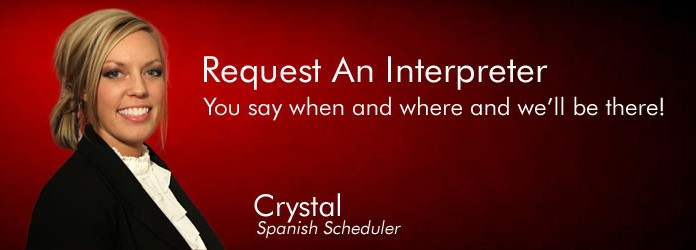 Request an Interpreter